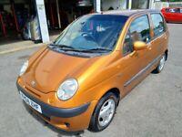 Daewoo Matiz SE+ 1.0l Petrol, '04, 44k miles, Orange, MOT June'20, e/w, a/c, alloys, used for sale  Wheatley, Oxfordshire