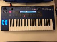 Novation Ultlranova Synthesizer + Novation case