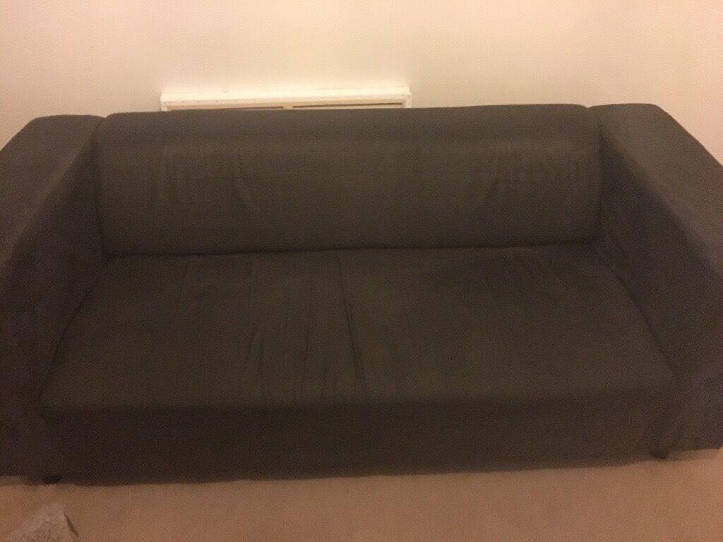 3 seater suede sofa