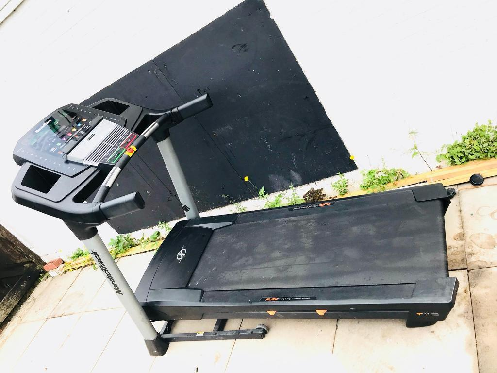 NordicTrack T11 5 Folding Treadmill (iFit Live compatible) | in Tamworth,  Staffordshire | Gumtree