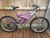 Raleigh Explore Full Suspension Ladies Mountain Bike