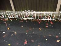 31 ft of garden railings / wall toppers £80 for the lot also have matching gates