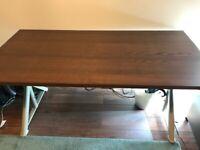 IKEA IDASEN Desk Brown/Beige, 160 cm x 80 cm
