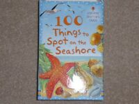 Usborne Spotter Cards - 100 things to Spot on the Seashore
