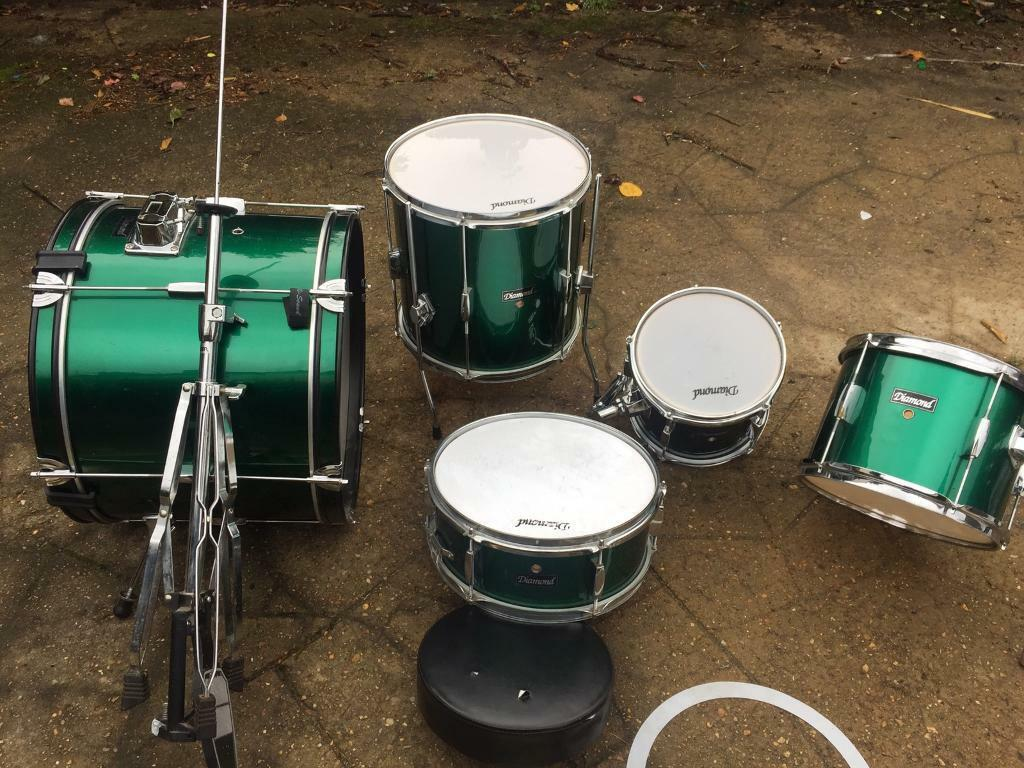 Drum kit Diamond all included + Pearl cymbals