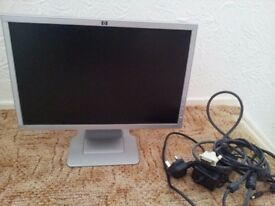 """Used HP Pavilion W19 19"""" LCD Monitor"""
