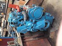 Reconditioned tractor engine and vacum fuel pump. To suit Ford Dexter