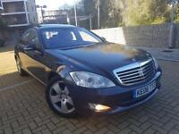 Mercedes-Benz S Class S320 CDI 7G-TRONIC AUTOMATIC DIESEL CAMERA+DISTRONIC+KEYLESS CALL 07709297381