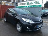 Ford Fiesta 1.6 TDCi ECOnetic DPF Zetec 5dr£4,485 p/x welcome FREE WARRANTY. NEW MOT