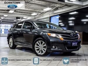 2013 Toyota Venza Moonroof, Leather, Back up camera