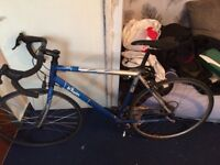 B-twin 6061 aluminium race bike