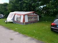 Dorema size 12 caravan awning