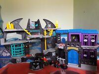 Gotham city jail and batcave