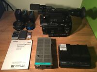 Sony PMW-F3 with *S-log and RGB 444 firmware upgrade, EXC++