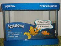 Aquatown 'my first aquarium' and accessories