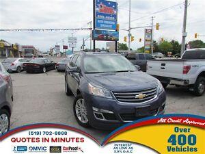 2014 Chevrolet Traverse 1LT | 8 PASSENGER | HEATED SEATS | BACKU