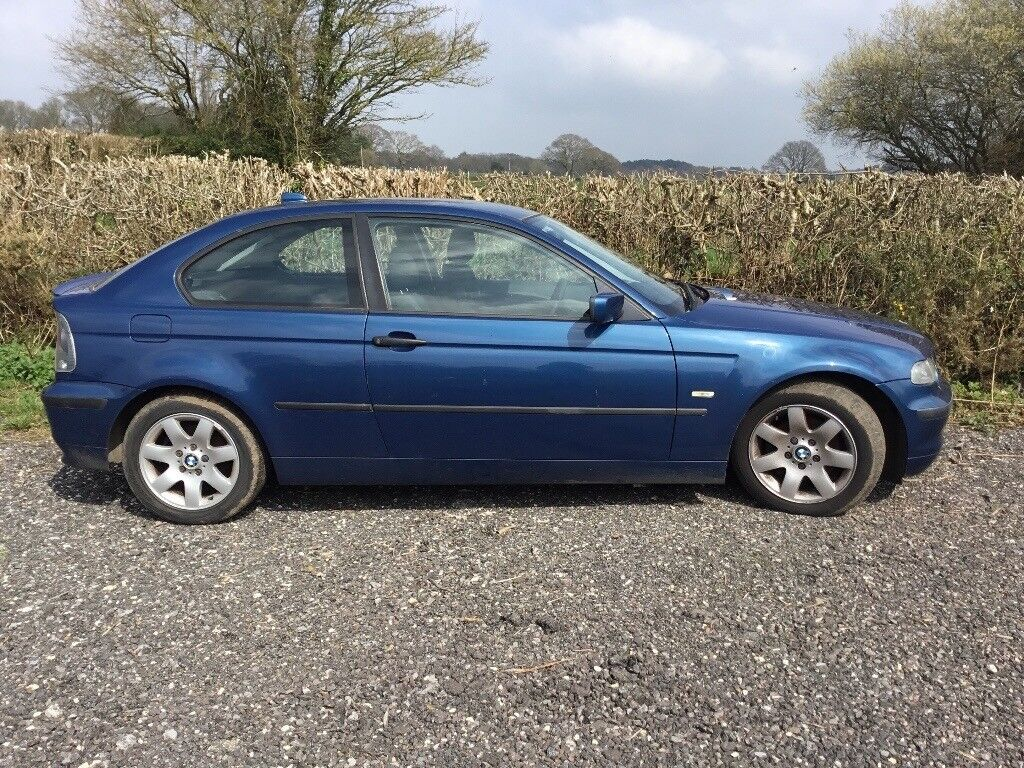 BMW 316TI SE -MOT June18 -Spares or repairs- One owner from new