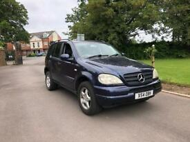 2000 MERCEDES ML320 3.2 AUTOMATIC 4X4
