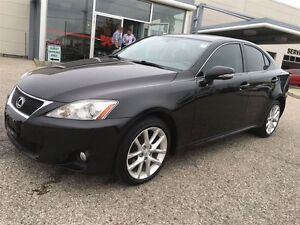 2012 Lexus IS 250 Show Room Condition Paddle Shift Awd  Black On Kitchener / Waterloo Kitchener Area image 2