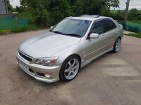 Lexus is200 LE + silver TTE