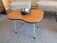 Vintage/Retro Kidney Shaped Teak Coffee Table
