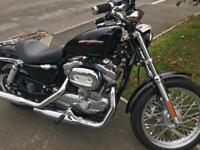 Harley Davidson sportser 883 only done 2700 dry miles