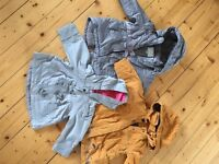 Winter and Autumn Girl Jackets- 2 Years