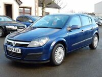 2004 vauxhall astra 1.7 cdti only 84000 miles, motd feb 2018, 1 owner from new