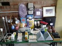 60 Items Of Bric-a-Brac-Ideal For Car Boot or Table Top Sale-Proceeds To Local Charity