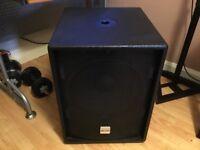 Alto Professional TS Active SubWoofer 15 TrueSonic Speaker