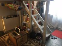 short term double room sub-let - mezzanine room in warehouse - Christmas time