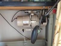 Blind hemming machine suitable for curtains etc