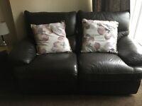 Leather Sofa 3 piece suite