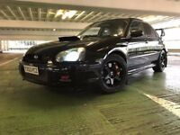 2003 SUBARU IMPREZA WRX STI ENGINE 428 BHP 405 FT/LB DYNO HUGE SPEC MODIFIED