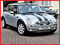 AUTO-- Mini COOPER Hatch 1.6 Automatic -- LEATHER -- PAN Duel SunRoof --New MOT+ Service --HPi Clear