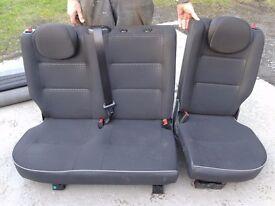 Peugeot Partner Combi back seats (may also fit Citroen Berlingo)