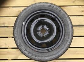 Spare wheel & car jack