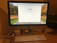 """Apple imac 27"""" i7 1TB boxes wireless mouse and keyboard"""