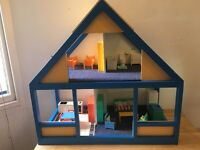 Hand crafted dolls house!