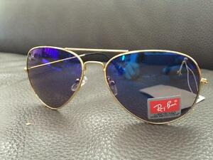 33a4909797ef1 ... ray ban 75th anniversary 22 carat gold plated folding aviators ...
