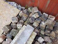 Granit setts. 4 inch