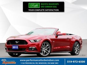 2015 Ford Mustang GT Premium ***red leather, NAV, cooled seats**
