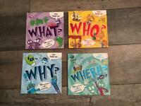 Children's Books Who , What Where Why and Who