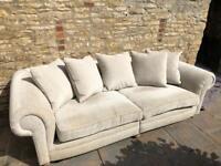 Barker & Stonehouse Grand 3 Seater Sofa