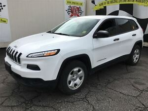 2014 Jeep Cherokee Sport, Automatic, Steering Wheel Controls,