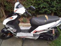 Ajs firefox..50cc scooter..2014..12 months mot
