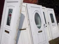 large bundle of upvc doors 7 units and a full house of upvc windows with glass and bead