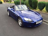 2003 [53] HONDA S2000 2.0 VTEC - MONTE CARLO BLUE - BLACK LEATHER - FULL SERVICE HISTORY - HPI CLEAR