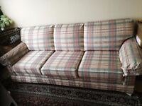 THREE SETTER SOFA BED (STERN AND FOSTER) SECOND HAND