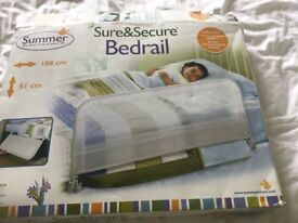 Guard for toddler bed.